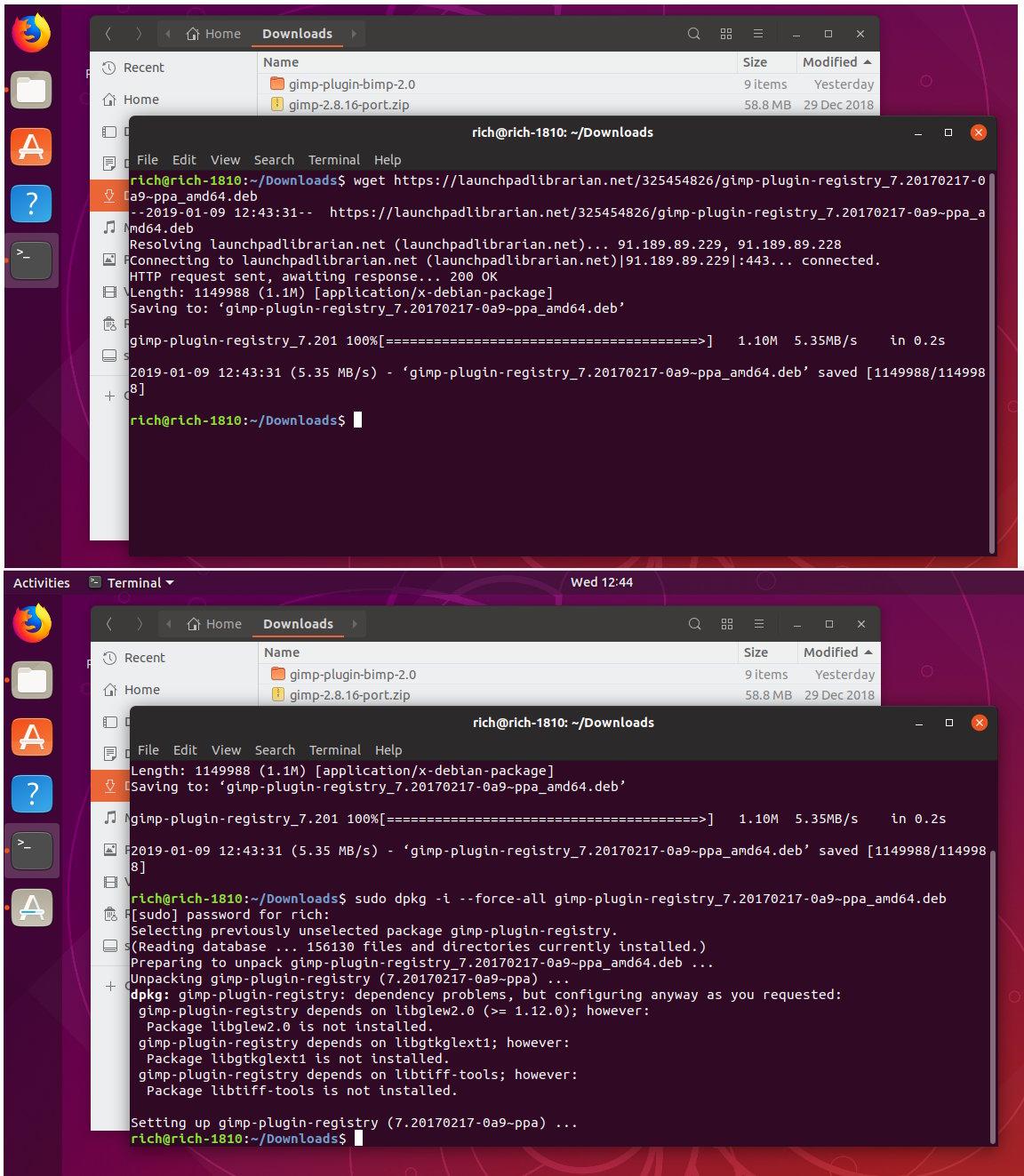 Gimp 2 10 8 Plugin Registry (2019) — Help & Support — gimpusers com