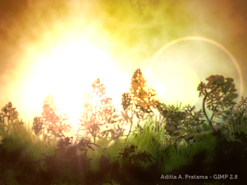 Once Upon In Sunny Day Digital Painting Contest Create