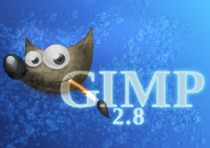 GIMP 2.8 release candidate splash screen