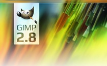 GIMP 2.8 splash screen