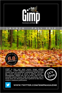 GIMP Magazine #1 will arrivein autumn 2012!