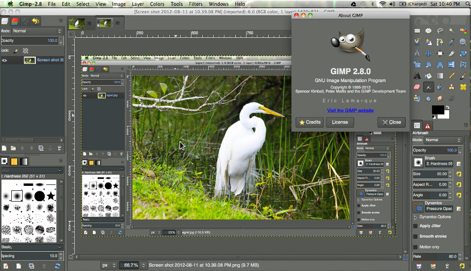 partha com has made a native mac build news gimpusers com rh gimpusers com GIMP Tutorials gimp user manual mac