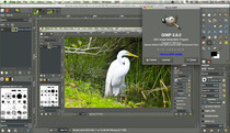 GIMP 2.8 in native Mac environment
