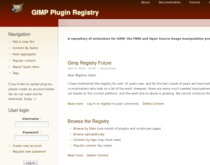 The GIMP registry is looking for a person with technical know how to deeper integrate in tino GIMP