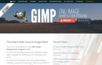 The new official GIMP website