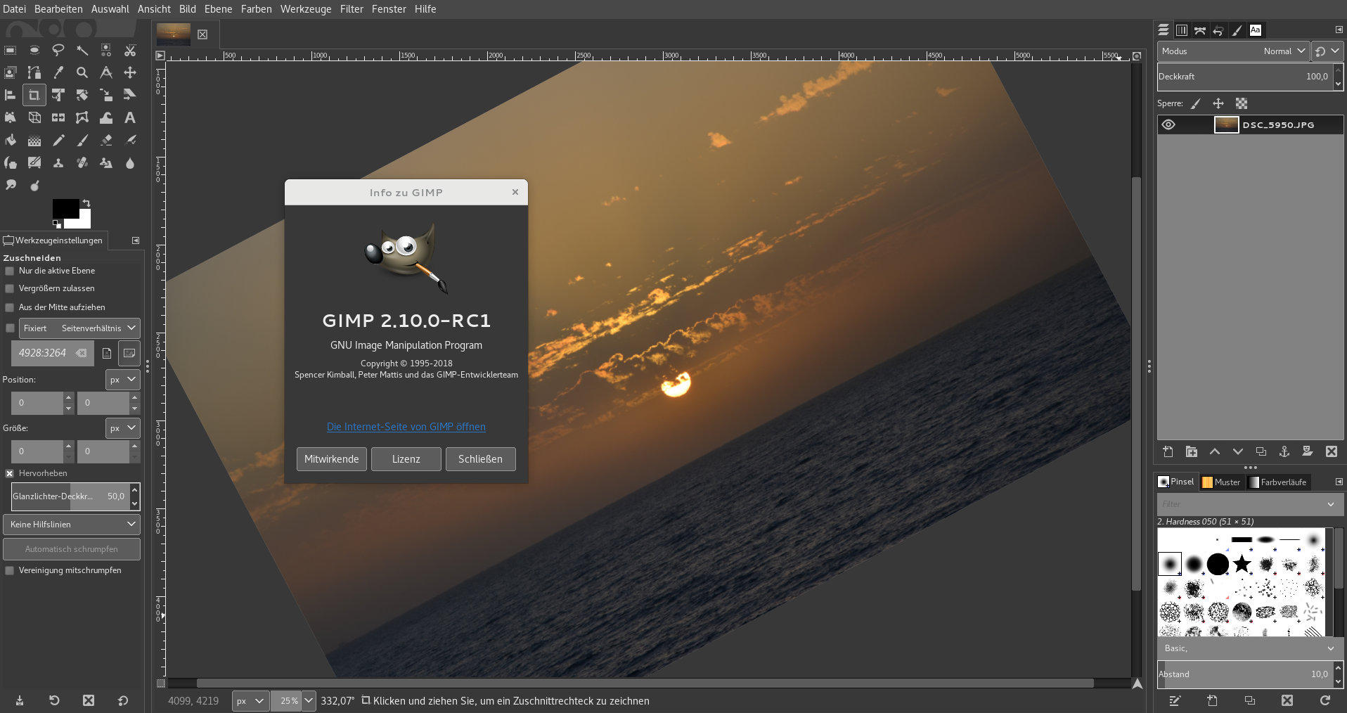 First Release Candidate Of Gimp 2 10 Available News