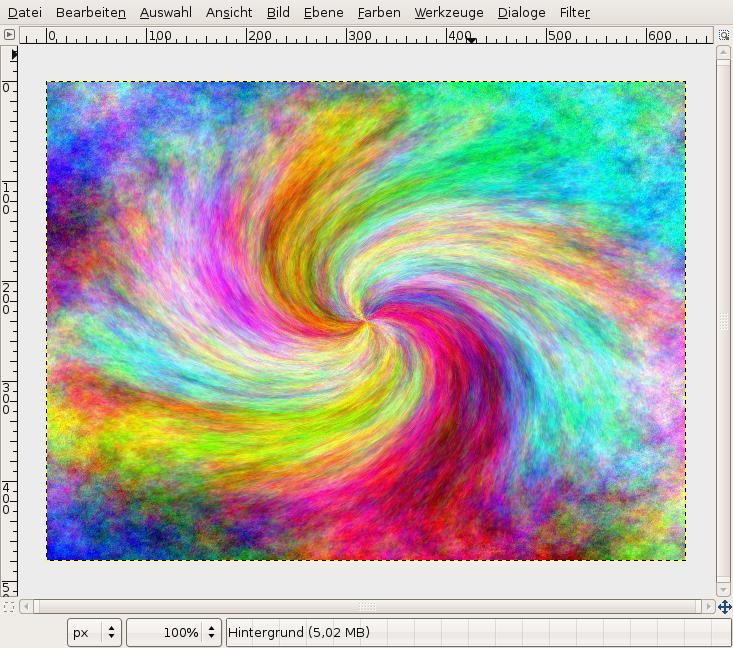 A colored swirl of light — Tutorials — gimpusers com