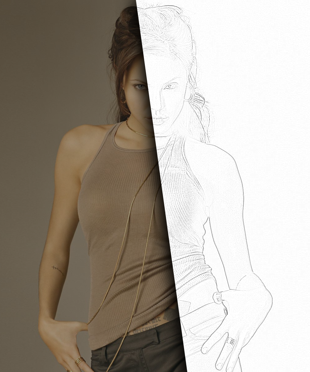 Making a pencil drawing from a photo tutorials gimpusers com