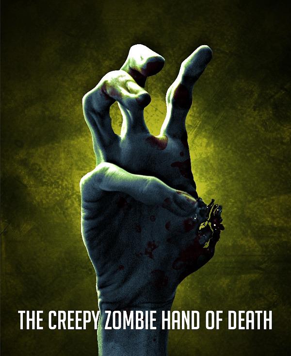 The creepy zombie hand of death!