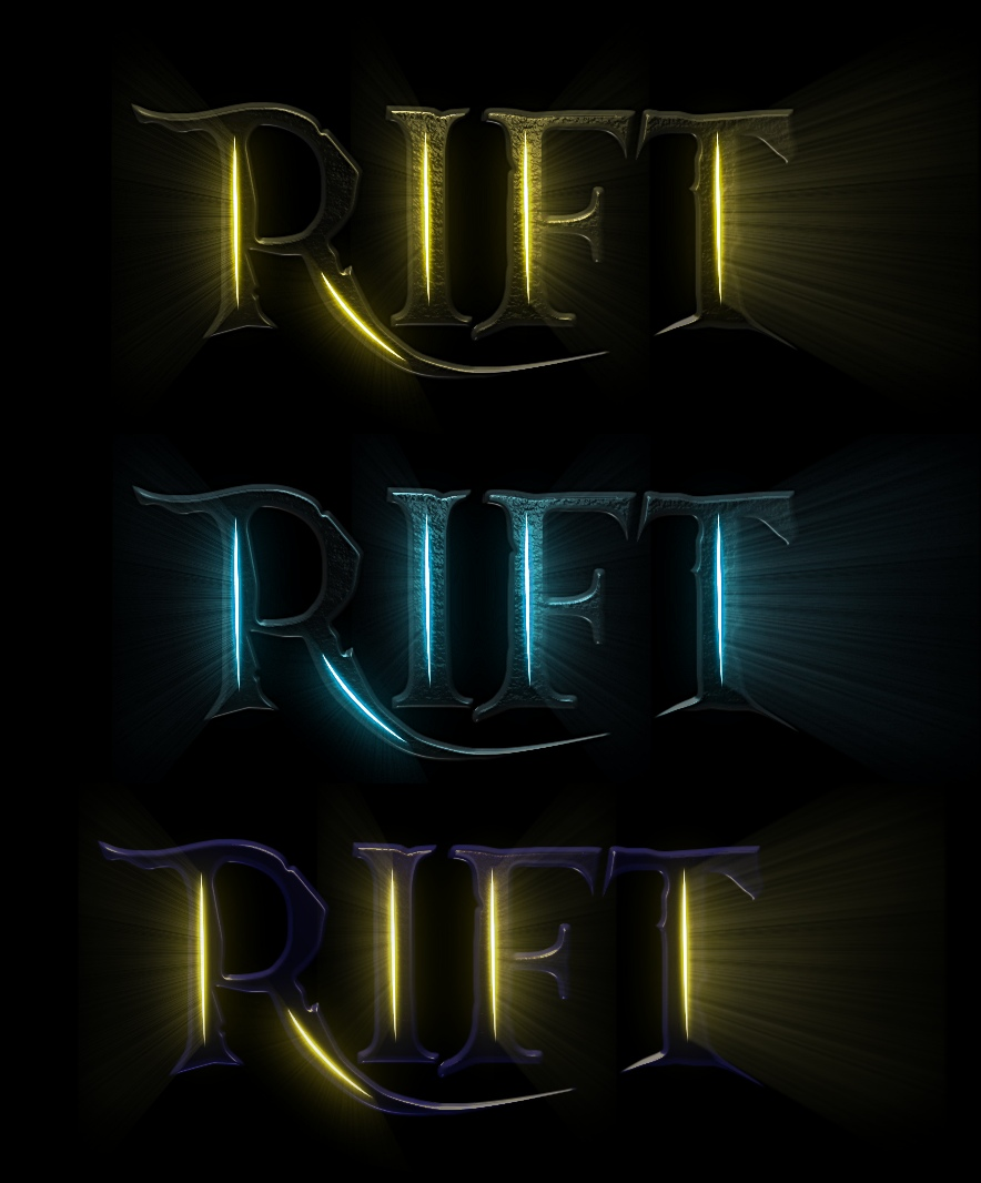 Create cool rifts with translucent lights!