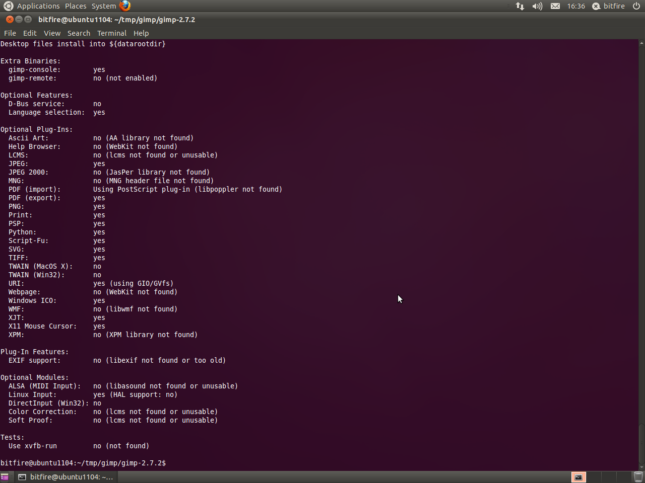 Compiling GIMP 2 8-RC1 for Ubuntu 12 04 — Tutorials — gimpusers com