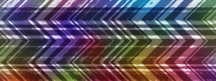 Create a colored zig zag pattern!