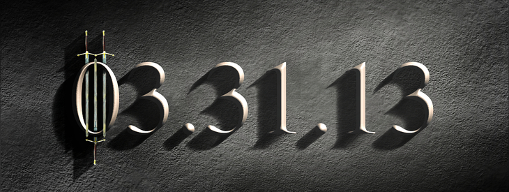 Create a hard beveled stoney text effect!