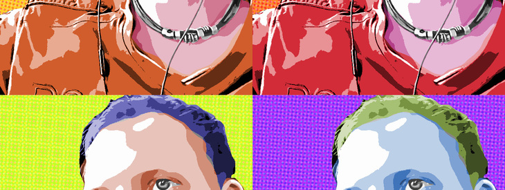 Create a Pop art photo effect (like Andy Warhol)