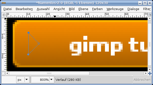 how to move a textbox in gimp