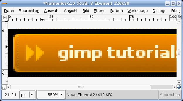 gimp how to get layer menu