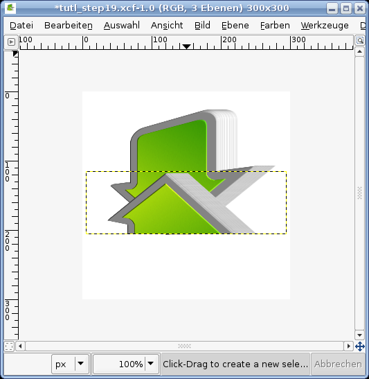 how to add a rectangle in gimp