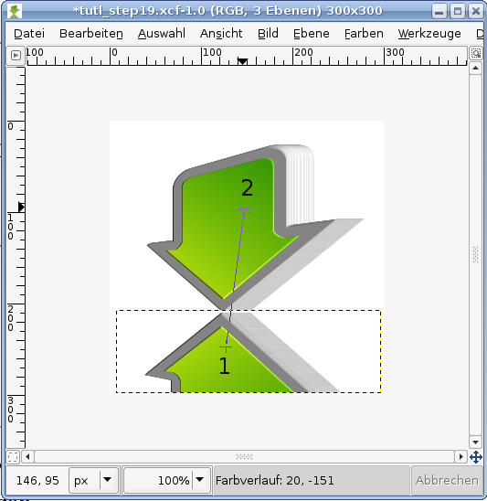how to draw using gimp 2