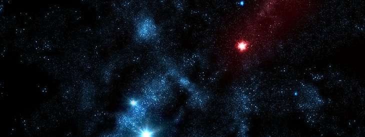 Create a cool starfield
