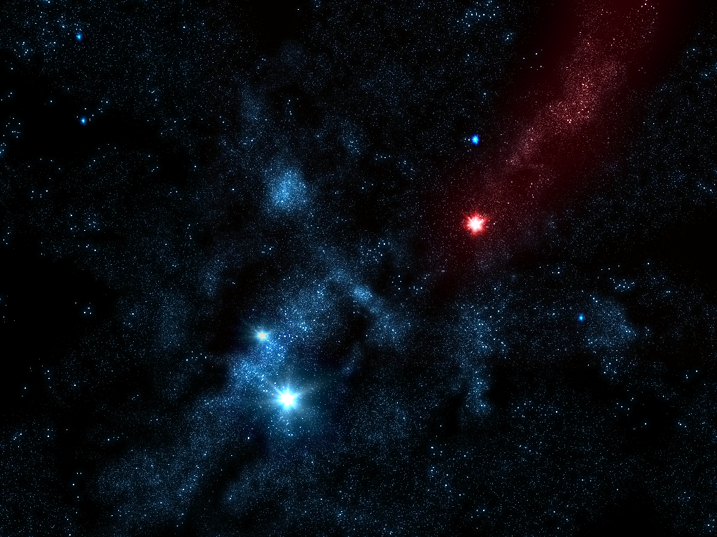 create a cool starfield — tutorials — gimpusers