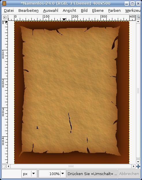 Old Parchment Paper — Tutorials — gimpusers com